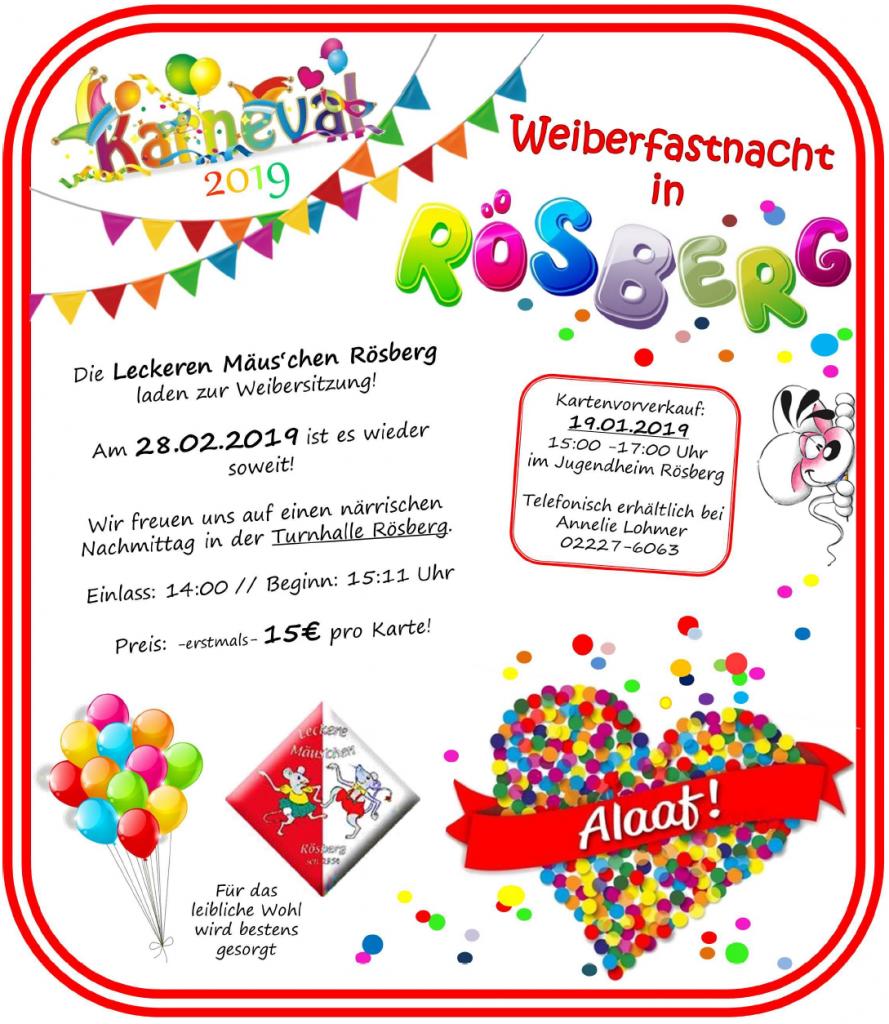 Plakat Mäuschen 2019